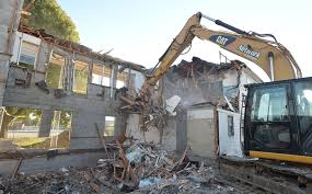 former el patio motel in millcreek township being demolished