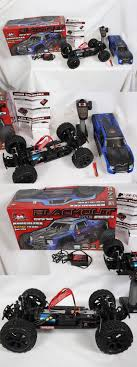 NEW W/ Issues Redcat Racing BlackOut XTE Pro Blue Truck 1:10 RC ...