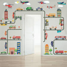 Transportation Town Wall Decals, EMS, Cars, Buses, Trucks, Helicopter, Cars Wall Decals Best Vinyl Decal Monster Truck Garage Decor Cstruction For Boys Fire Truck Wall Decal Department Art Custom Sticker Dump Xxl Nursery Kids Rooms Boy Room Fire Xl Trucks Stickers Elitflat Plane Car Etsy Murals Theme Ideas Racing Art
