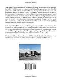 Libro Photographers Guide To The Panasonic Lumix Lx100