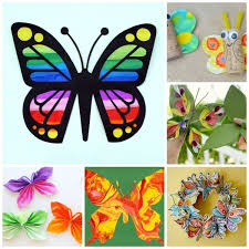 These Darling Butterfly Crafts For Kids Were First Published In April 2015 And Have Been Updated Republished Your Convenience