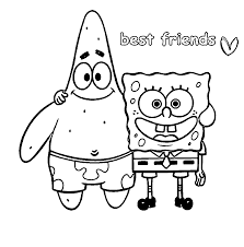Words Best Friends Coloring Page