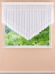 plauener spitze lorren hochwertige v gardinen fertiggardinen stores blumenfenster h 175 x b 600 cm