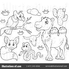 Animals Clipart Illustration by visekart