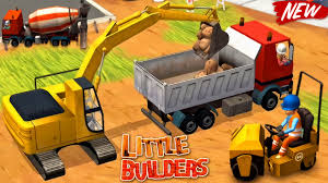 100 Digger Truck Videos Little Builders S Cranes New Fun Construction Games