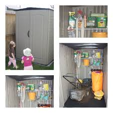 Rubbermaid Roughneck Storage Shed Accessories by Organized Bliss This Is How I Want My Shed To Be Organized The