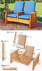 Plans For Yard Furniture by Patio Furniture Plans Furniture Design Ideas