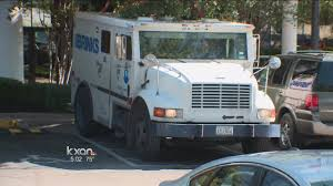 Armored Truck Robbed Outside Southeast Austin Bank - YouTube Columbus Police Searching For Three Armed Suspects After Brinks Garda Armored Truck Insssrenterprisesco Car Guard Shot In Sacramento Credit Union Robbery Armored Robbed Outside Wells Fargo Inglewood Abc7com Cmpd Vesgating Of West Charlotte Smart Water Anti System Sign On The Back An Armoured Truck Driver Shoots Atmpted Robber In Little Village Worker Fatally Midcity Bank 1922 Us Mint Denver Suspect Dead Phoenix Youtube By Man And Woman East Side Wsyx