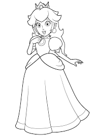 Princess Printable Coloring Pages Free