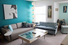 türkis ideen für einen bunten wohnzimmer casaomnia