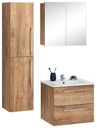 trendteam badmöbel set skin set 2 tlg spiegelschrank