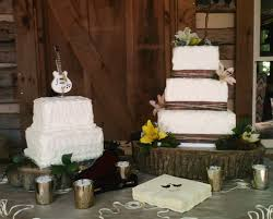 Image Of Rustic Wedding Cake Stands