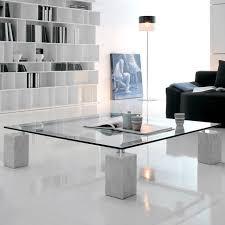 glas und weiß couchtisch design ideen für das moderne