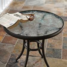 Kmart Jaclyn Smith Patio Furniture by Jaclyn Smith Cora Round Side Table Outdoor Living Patio