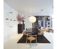 nomon wanduhr wohnzimmer delmori mit einem durchmesser 140 cm