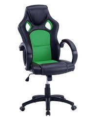fauteuil de bureau vert link chaise de bureau racing gamers kayelles com
