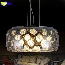 fumat k9 kristall pendelleuchte moderne mode führte glas pendelleuchte wohnzimmer schlafzimmer bar glanz kristall pendelleuchten