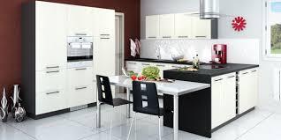 cuisine en u avec table l implantation de cuisine en g you