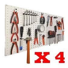 panneaux muraux de rangement pour outils crochets panneau