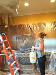 Does Popcorn Ceilings Have Asbestos In Them by Best 25 Popcorn Ceiling Ideas On Pinterest Covering Popcorn