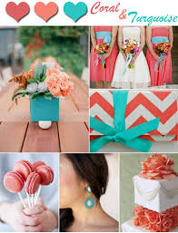 Stunning Coral And Teal Wedding Colors Ideas