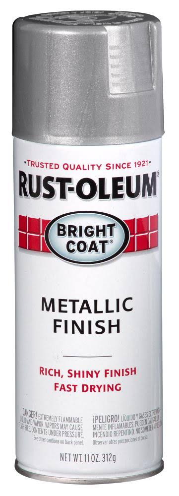 Rust-Oleum Metallic Finish Spray Paint - Aluminum