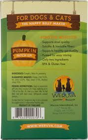 Dog Constipation Treatment Pumpkin by Weruva Pumpkin Patch Up Dog U0026 Cat Food Supplement Pouches 1 05