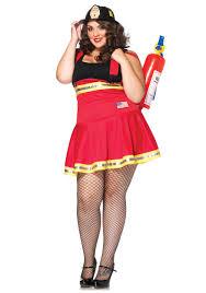 Plus Three Alarm Hottie Firefighter Costume - Halloween Costume ...