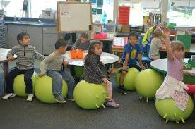 Ball Seats For Classrooms by Marin U0027s U0027wiggle U0027 Chairs Give Students The Freedom To Squirm