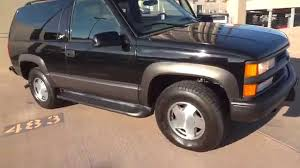 1999 Chevrolet 2 Door Tahoe 4x4 75k Miles 1 Owner Sport Z71 Package ...