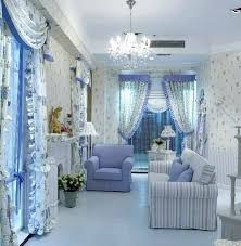 blue curtains for living room curtain design living room on blue