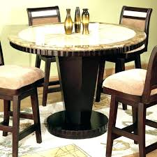 Bar Height Wood Dining Table Kitchen E Sets 5 Gallery The Most Amazing Round
