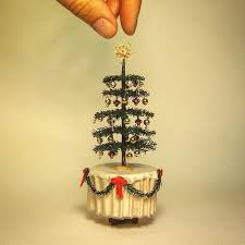 Luxury Miniature Christmas Tree How To Decorate A Ornaments Star Topper Tiny