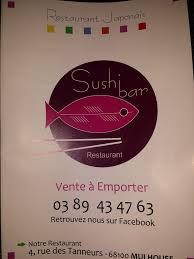 sushi bar japanese 4 rue des tanneurs mulhouse haut rhin