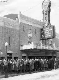 hub theater rochelle il back in the day pinterest