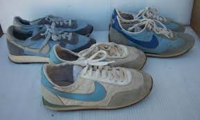 Vintage Nike Sneakers Tennis Shoes Lot Of 3 Blue White