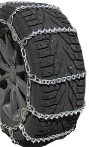 Amazon.com: TireChain.com 3810 V Bar Truck Tire Chains With Cams ...