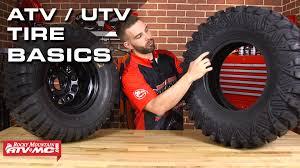 7 Basics To Know About ATV/UTV Tires! - YouTube