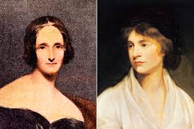 Mary Shelley Author Of Frankenstein And Her Mother Feminist Writer Wollstonecraft