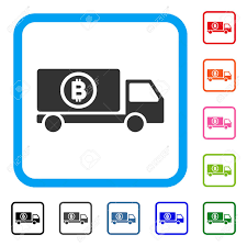 Bitcoin Delivery Truck Icon. Flat Grey Iconic Symbol In A Light ... Vector Delivery Truck Icon Isolated On White Background Royalty Stock Art More Images Of Adhesive Truck Icon Flat Free Image Designs Mein Mousepad Design Selbst Designen Style Illustration Delivery Image Clock Offering Getty 24 7 Website Button