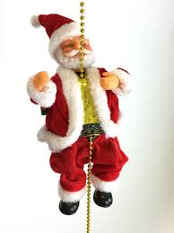 Dillards Christmas Decorations 2014 by Musical Climbing Santa Clause Figure Decoration Indoor