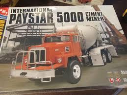 AMT INTERNATIONAL PAYSTAR 5000 Cement Mixer Model Truck Kit 1/25 ...