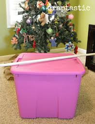 Christmas Tree Storage Bin Plastic by Craptastic Cheap And Easy Diy Christmas Ornament Storage