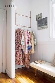 Best 25 Hanging Clothes Racks Ideas On Pinterest Wardrobe Rail Inside Rack To Hang