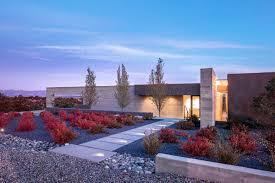 100 Desert House Modern Desert House Has Mountain Views Dramatic Shadows Curbed