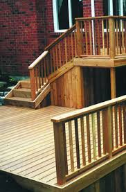 complete your deck design with ultradeck fusion railing made of