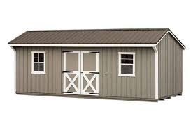 Wood Storage Sheds 10 X 20 by Premium Sheds Custom Carriage House Sheds