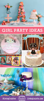 Creative DIY Girl Birthday Party Ideas Featured On Living Thursday At LivingLocurto