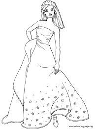 Best Barbie Coloring Pages Free 51 For Kids With