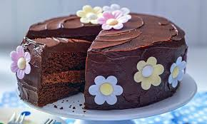 vanille schoko torte